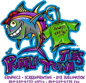 Purple Tuna Tees